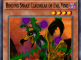 Binding Snake Clausolas of Evil Vine