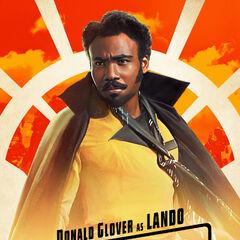 Lando Calrissian karakter posteri