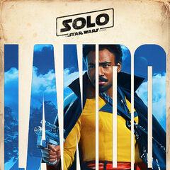 Lando Calrissian karakter fragman posteri