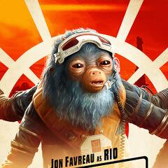 Rio Durant karakter posteri