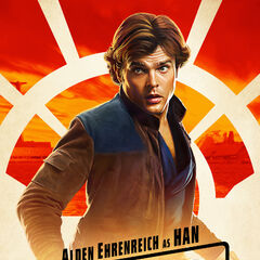 Han Solo karakter posteri