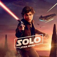 Han Solo BK karakter posteri