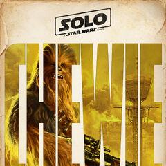 Chewbacca karakter fragman posteri