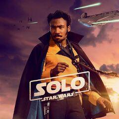 Lando Calrissian BK karakter posteri