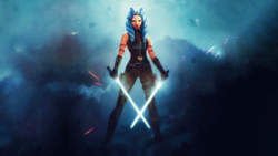 Ahsoka Cover Art by Wojtek Fus