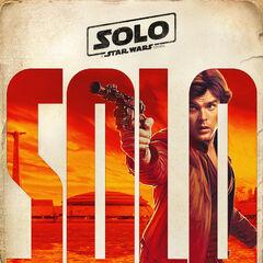 Han Solo karakter fragman posteri