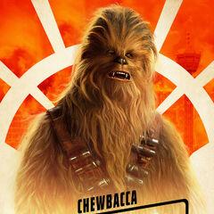 Chewbacca karakter posteri