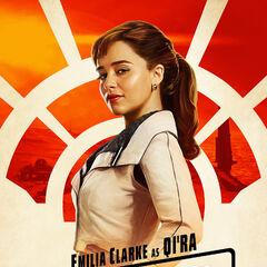 Qi'ra karakter posteri