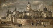 Slottet Tre Kronor 1661