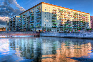Liljeholmen in color