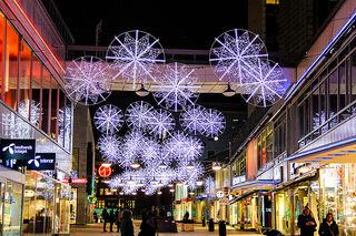 Snowflakes in Stockholm