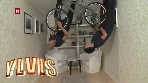 Ylvis - Det kan du vel- Lappe sykkel -English subtitles-