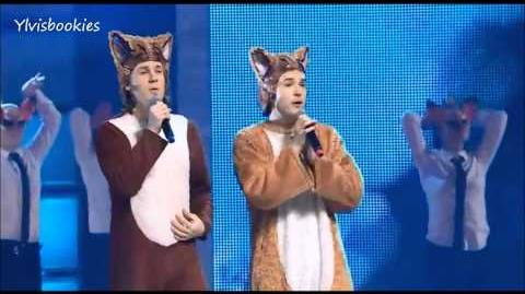 "Ylvis ""The Fox"" at ""The Big Jingle"" - Toronto, Canada (07.12.13)"