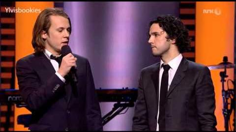 Ylvis - The Fox wins the Hit of The Year - Spellemann 2013