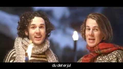 Ylvis - Da vet du at det er Jul Official music video HD (English subtitles)