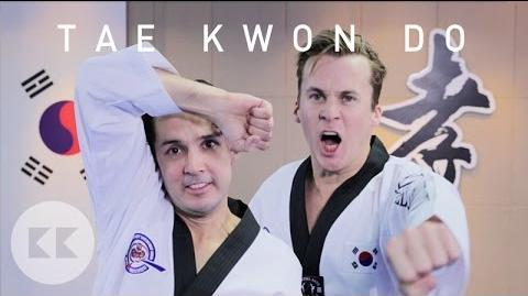 Ylvis Try Tae Kwon Do For The First Time