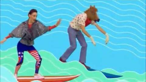 Dance Floor on the Sand - Yelle