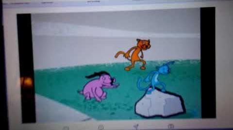 Yo gabba gabba ride animation