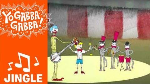 """""""Circus Town"""" Jingle - Mates of State - Yo Gabba Gabba!"""
