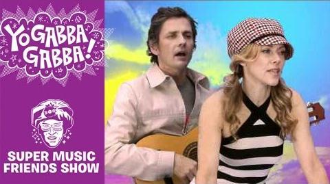 Dean and Britta - Let's Ride - Yo Gabba Gabba!