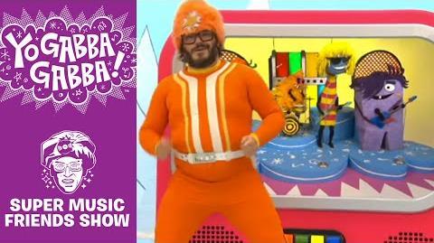 The Yo Dazzlers - You Can't Always Get What You Want - Yo Gabba Gabba!