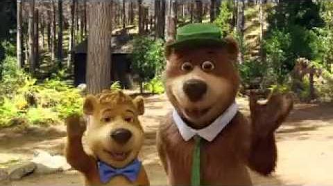 "My Fun Interview with Yogi Bear and Boo Boo for ""Yogi Bear"""