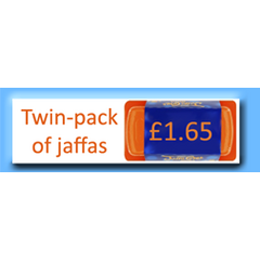 Previously, Yognau(gh)ts could donate the amount that a packet of Jaffas cost...