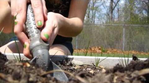 Yogpod Challenge -2 - digging a hole!