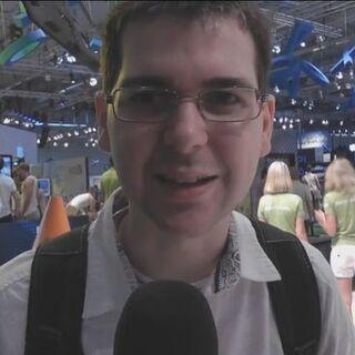 Lewis at Gamescom 2012.