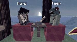 Ravs vs Teep over CC