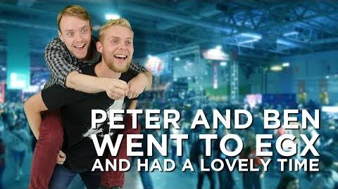 Peter And Ben Went To EGX And Had A Lovely Time