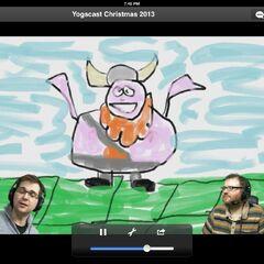 A sample of Simon's amazing art skills.