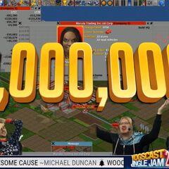 One million raised on night 1
