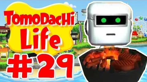Tomodachi Life Barbecuing With Rock Gods! - Part 29