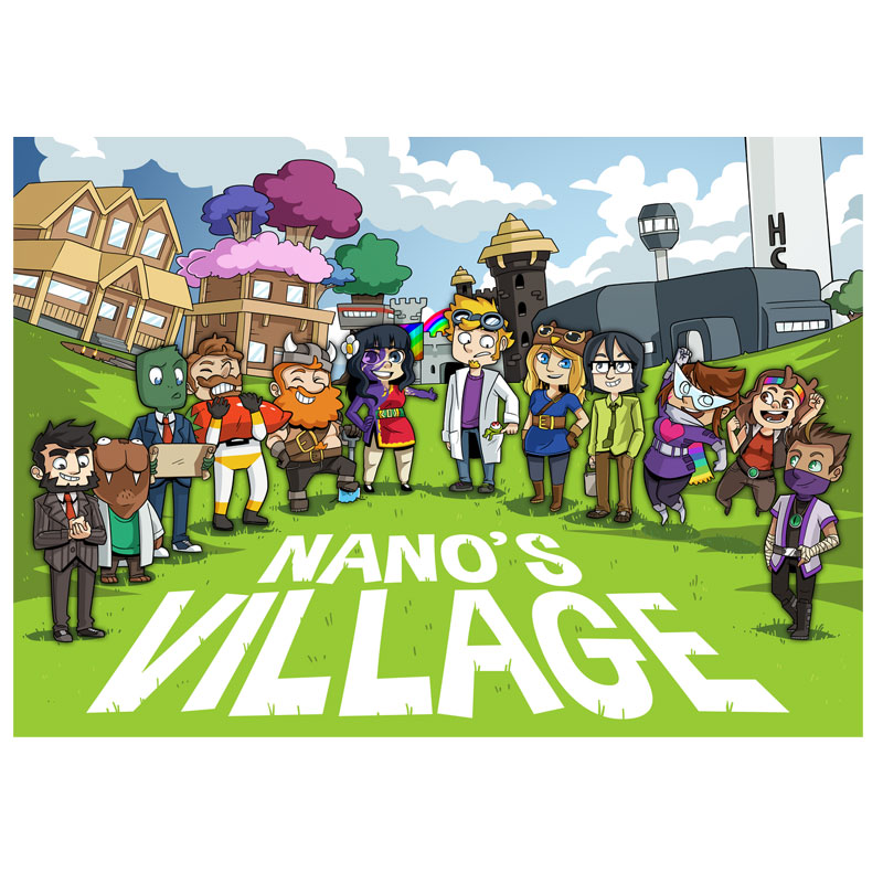 Nano's Village | Yogscast Wiki | FANDOM powered by Wikia