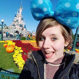 Leo at Disneyland Paris.