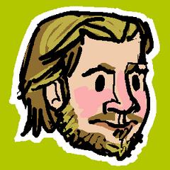 Fredrik's former Twitter avatar.