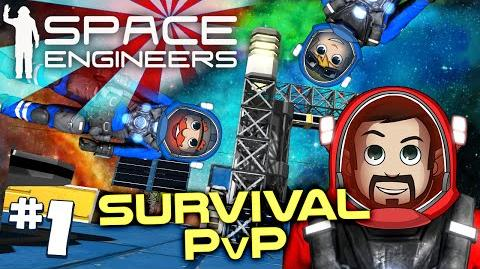 Space Engineers PVP Ep1 A Proper Burial