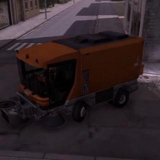 Simon Street Sweeper, Clementine.