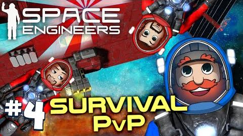 Space Engineers PVP Ep4 Space Engineers Vs Space Pirates-0