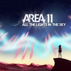 The cover art of their 1st album, All the Lights in the Sky.