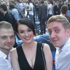 Kaeyi, Martyn, and Squid at the Guardians of the Galaxy European Premiere.