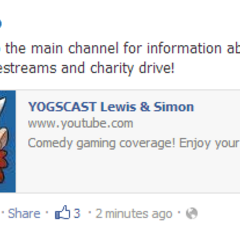 Image of the November 2012 Facebook post announcing the 2012 livestreams.