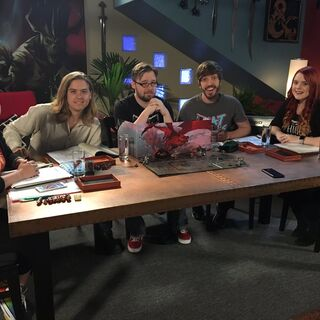 Katie (right) and the HighRollers crew with <a href=