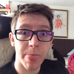 John's former Twitter avatar.