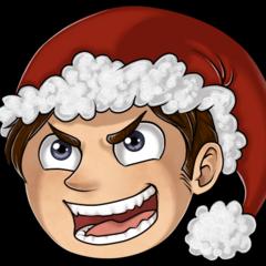 Dave's 2014 Christmas Twitter avatar.