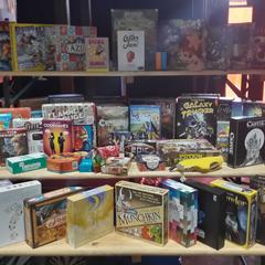 Yogcon 2019 Boardgame Array.