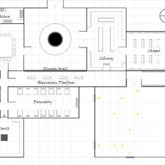 Upper floor of <a href=