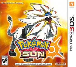 Pokemon Sun Boxart