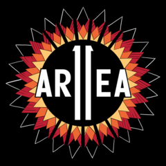 Area 11's first logo for the 2nd album.